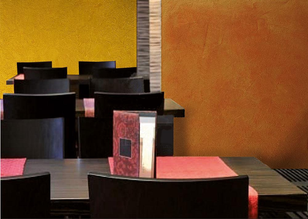 Effetti decorativi e pitture per interni ed esterni for Effetto vento di sabbia