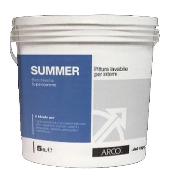 idropittura bianca lavabile summer