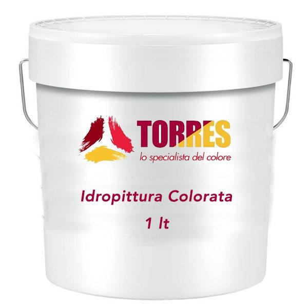 idropittura colorata per interni 1 litro