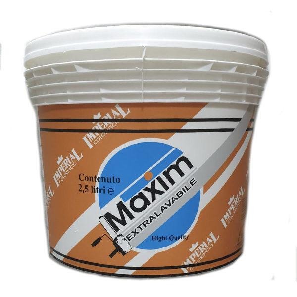 Maxim idropittura superlavabile bianca 2,5 litri